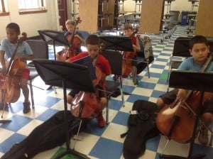 cellists